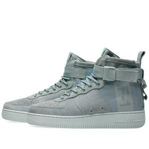 Women Nike SF Air Force 1 Mid Light Pumice Shoes 7